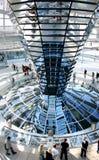 Edifício de Reichstag em Berlim Fotos de Stock Royalty Free
