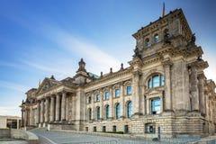 Edifício de Reichstag em Berlim Foto de Stock Royalty Free