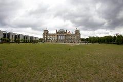 Edifício de Reichstag em Berlim, Alemanha Fotografia de Stock