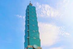 Edifício de Taipei 101 Imagem de Stock
