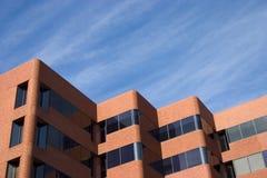 Edifício de tijolo moderno Imagens de Stock Royalty Free
