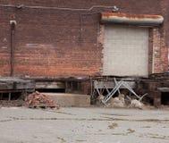 Edifício de tijolo velho Imagem de Stock Royalty Free