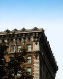 Edifício de tijolo velho Imagens de Stock Royalty Free