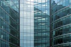 Edifício de vidro Fotografia de Stock