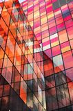 Edifício de vidro vermelho Imagem de Stock