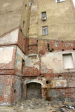 Edifício destruído Foto de Stock