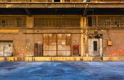 Edifício do armazém fotos de stock