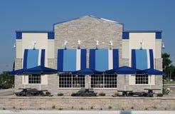 Edifício do azul Imagem de Stock Royalty Free