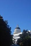 Edifício do Capitólio de Califórnia Foto de Stock