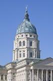 Edifício do Capitólio do estado de Kansas imagens de stock royalty free