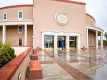 Edifício do Capitólio do estado de New mexico foto de stock