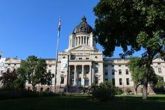 Edifício do Capitólio do estado de South Dakota fotografia de stock