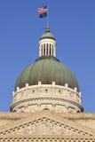 Edifício do Capitólio do estado em Indianapolis Imagens de Stock Royalty Free