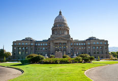 Edifício do Capitólio em Boise, Idaho fotografia de stock