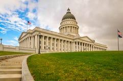Edifício do capital de estado de Utá Fotografia de Stock Royalty Free