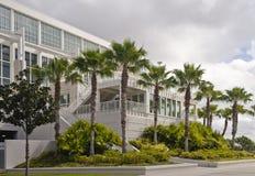 Edifício do centro de convenção Imagem de Stock Royalty Free