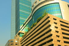 Edifício do centro de negócio Fotografia de Stock Royalty Free