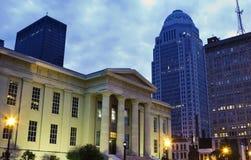 Edifício do condado de Jefferson em Louisville, Kentucky imagens de stock
