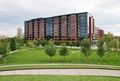 Edifício do condomínio, Minneapolis imagem de stock