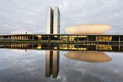Edifício do congresso em Brasília Fotos de Stock Royalty Free