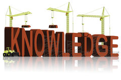 Edifício do conhecimento ilustração royalty free