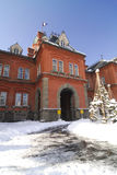 Edifício do governo do Hokkaido (Akarenga) Fotografia de Stock Royalty Free