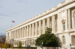Edifício do governo dos E.U. Fotografia de Stock Royalty Free