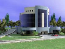Edifício do hotel Fotografia de Stock Royalty Free