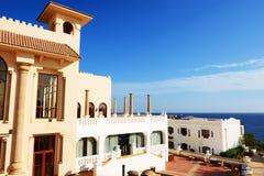 Edifício do hotel de luxo Imagem de Stock Royalty Free