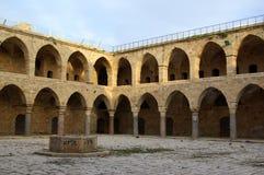 Edifício do marco do otomano do al-Umdan de Khan Imagem de Stock Royalty Free