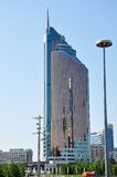 Edifício do Ministério do Transporte do Kazakh Imagem de Stock