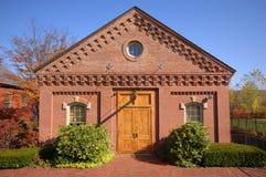 Edifício do moinho das quedas de Turner Fotos de Stock