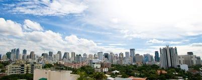 Edifício do negócio do arranha-céus de Banguecoque Foto de Stock