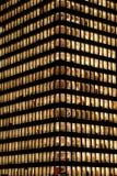 Edifício do negócio na noite Paris, defesa do La Imagem de Stock Royalty Free