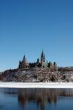 Edifício do parlamento fotografia de stock