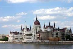 Edifício do parlamento, budapest, Imagens de Stock Royalty Free