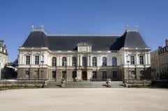 Edifício do parlamento de Rennes Foto de Stock Royalty Free