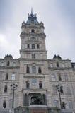 Edifício do parlamento em Quebec City imagens de stock