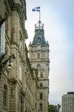 Edifício do parlamento em Quebec City, Canadá imagens de stock