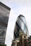 Edifício do pepino de Londres Foto de Stock