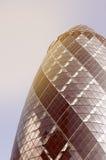Edifício do pepino em Londres Fotos de Stock