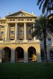 Edifício do porto de Barcelonas. imagem de stock royalty free