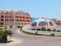 Edifício do recurso do hotel de luxo Imagem de Stock Royalty Free