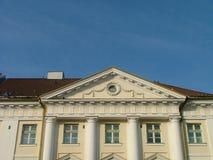 Edifício do salão de cidade foto de stock royalty free