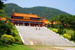 Edifício do templo chinês Fotos de Stock Royalty Free