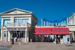 Edifício do Waterworld em Chipre Fotografia de Stock