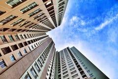 Edifício elevado Fotografia de Stock Royalty Free