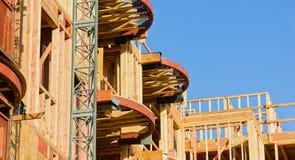 Edifício elevado da ascensão que vai acima Imagem de Stock Royalty Free