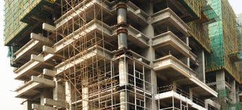 Edifício elevado da ascensão que vai acima Foto de Stock Royalty Free