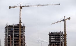 Edifício elevado da ascensão que vai acima Imagens de Stock Royalty Free
